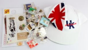Olympic memorabilia- selection of badges and pins 1980's-2000's summer and winter games. Small
