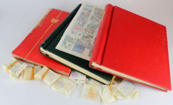 GB - box with a modern mint accumulation in albums/stockbooks, etc. Vendor believes face value