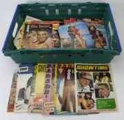 Magazines & Programmes c1960's various including London Palladium, Gigi, Bertram Mills Circus,