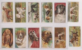Trade cards, Spratt's, Prize Dogs (set, 12 cards) (one with scuffed back, no 11, rest gd) (12)