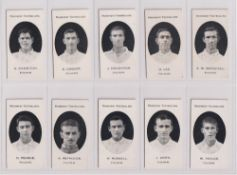 Cigarette cards, Taddy, Prominent Footballers (London Mixture), Fulham (set, 15 cards) (vg) (15)