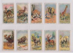 Trade cards, Farrows, Animals in the Zoo, (set, 50 cards) (gd)