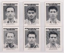 Trade cards, News Chronicle, Footballers, three sets, Manchester City (15 cards), Sunderland FC (