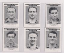 Trade cards, News Chronicle, Footballers, Everton, three sets with different printings, one with '