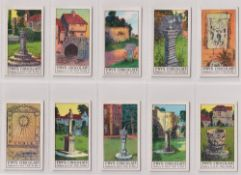 Trade cards, Fry's, Ancient Sundials, (set, 50 cards) (gd/vg)