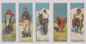 Trade cards, Typhoo, 2 sets, both 'T' size, Animals Friends of Man (25 cards) & Animals Offence &