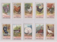 Trade cards, Fry's, Fowls, Pigeons & Dogs (set, 50 cards)