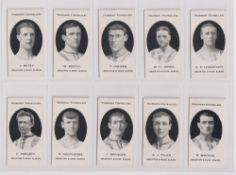 Cigarette cards, Taddy, Prominent Footballers (London Mixture), Brighton & Hove Albion (set, 13