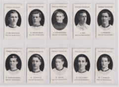 Cigarette cards, Taddy, Prominent Footballers (London Mixture), Bolton Wanderers (set of 15