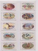 Trade cards, Typhoo, 2 sets, Aesop's Fables (25 cards) & Ancient & Annual Customs (25 cards) (gd)