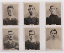 Cigarette cards, Phillips, Footballers (all Pinnace back), 'L' size, 42 different cards, numbered