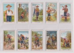 Trade cards, Pascall's, Boy Scout Series (22/48, mixed backs) (gd/vg)