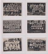 Cigarette cards, Ardath, Photocards 'C' (Yorks Football Teams), 'M' size (set, 110 cards) (vg)