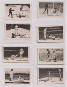 Trade cards, The Rocket, Famous Knock Outs (Boxing), 'M' size (set, 11 cards) (vg)
