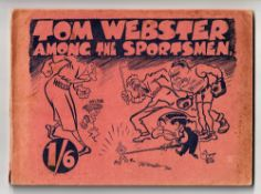 Sports Annual, Tom Webster 'Among the Sportsmen' Annual 1920 with 96 pages of cartoon images which