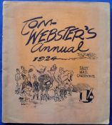 Sport Annual, Tom Webster's Annual 1924 containing a collection of cartoon images that appeared in