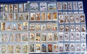 Cigarette cards, Churchman's, 10 sets, inc. Boxing Personalities, Association Footballers 1st