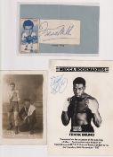 Cigarette & trade cards, Boxing, an album containing 300+ cards all Boxing related many different