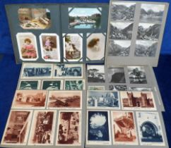 Postcards, a large quantity of approx. 470 mixed age cards inc. subjects, UK topographical and a few