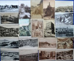 Postcards, Middle East, a collection of approx. 150 cards mostly of Israel & Jordan, RP's & printed,