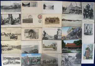 Postcards, a Foreign selection of approx. 40 cards inc. street scenes, view, villages, ethnic etc