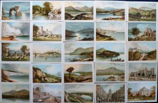 Postcards, a mixed collection of approx. 145 cards inc. 58 cards from Nelson & Sons series UK