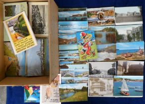 Postcards, a large mixed collection of approx. 2000 modern cards, with a broad range of UK & Foreign