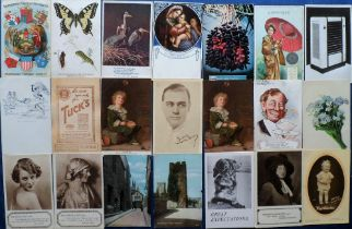 Postcards, Advertising, a collection of approx. 60 cards with adverts for various products inc.