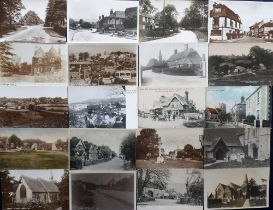 Postcards, Sussex, a collection of approx. 44 cards of Sussex villages, towns & views, with many