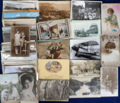 Postcards, a large accumulation of approx. 3500 cards, mainly UK topographical & subject cards, with