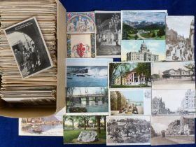 Postcards, Foreign, a collection of approx. 700 cards mainly Europe, but also inc. some Africa &