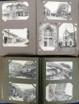 Postcards, a collection of approx. 280 French, Swiss, Italian & USA cards, good French street