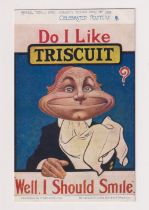 Postcard, Advertising, Triscuit, Tucks Celebrated Posters, 1505, (slight acm gd)