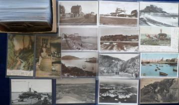 Postcards, a collection of approx. 125 Channel Islands cards, inc. LL's of Guernsey nos 76 & 88 &