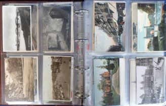 Postcards, a large collection of approx. 500 mainly UK topographical cards in modern album and