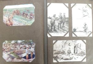 Postcards, a mixed subject, UK topographical and a few Foreign cards, approx. 345. Subject cards