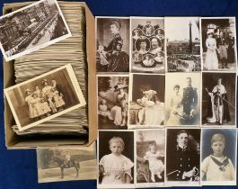 Postcards, a comprehensive collection of over 700 UK and Foreign Royalty cards inc. weddings,