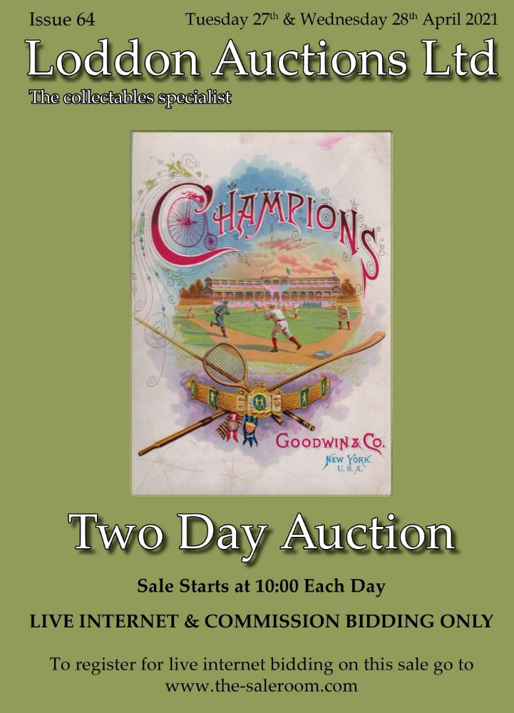 Postcards, Autographs, Photos, Ephemera, Sport, Stamps, Cigarette & Trade Cards - Internet & Commission Bidding Only