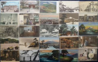 Postcards, Foreign, a collection of approx. 67 cards of S E Asia inc. Japan (58), Vietnam (7),