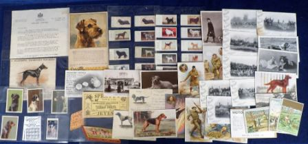 Postcards, Advertising, a collection of approx. 60 postcards & trade cards for biscuit manufacturers