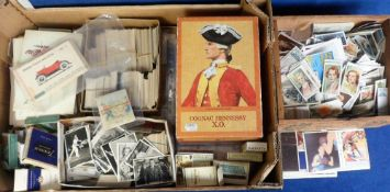 Cigarette & trade cards, a vast quantity of cards, loose and in sleeves, various manufacturers