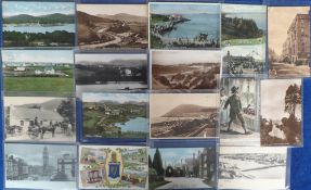 Postcards, Northern Ireland & Eire, a selection of 142 mainly printed cards, all sleeved, inc.