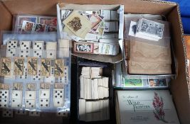 Cigarette & trade cards, a vast accumulation of cards (1,000's) in sleeves and loose, many different