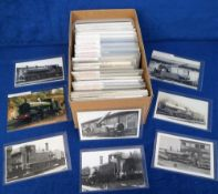 Photographs/Postcards, Rail, a collection of approx. 150 images of GWR engines listed by engine