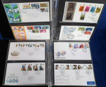 Stamps, Collection of GB first day covers 1957-1997 housed in 3 collectors albums. 230 covers