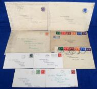 Stamps, Collection of 9 GB first day covers 1935-1940 KEVIII & KGV including 1940 Centenary of