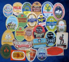 Beer labels, Foreign, a group of 24 from various countries inc. New Zealand, Denmark, Italy,