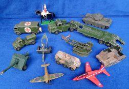 Die Cast, Military Models, Dinky, Britain's, Matchbox, Lone Star etc. to include Tanks, Bren Gun