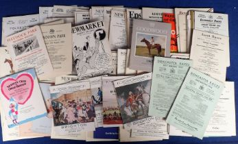 Horse Racing, Racecards, a collection of approx. 120 Flat Racing cards, all 1950's/60's, many