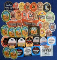 Beer labels, a mixed selection of approx. 65 labels including 21 neck labels, some duplication,